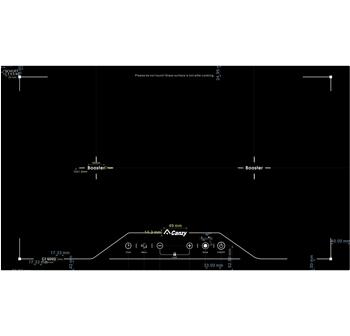 Bếp điện từ Canzy 2 bếp CZ-QD03