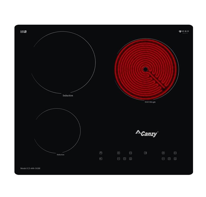 Bếp điện từ Canzy 3 bếp CZ- 600 – 3GIH