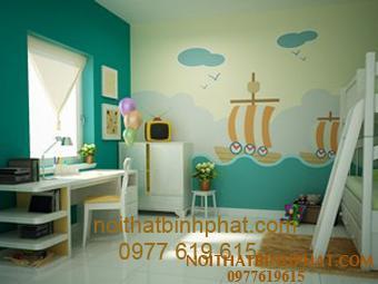 Bí quyết trang trí nội thất phòng ngủ cho bé