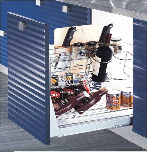 Kệ gia vị dụng cụ higold inox 304 tủ 350mm 306021