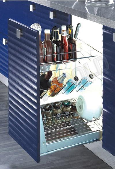 Kệ gia vị dụng cụ higold inox 304 tủ 450mm 306051