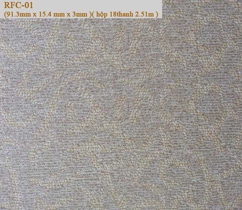 Sàn nhựa  giả thảm Raflex RFC-01