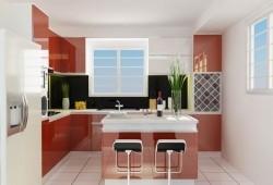 Tủ bếp acrylic TBA-03