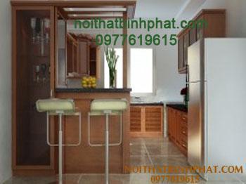 Tủ bếp gỗ căm xe TBC-01