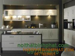 Tủ bếp gỗ sồi - ash TBSA-12